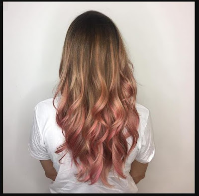 Rose-Gold-For-Brown-Hair-Painterly-Pink
