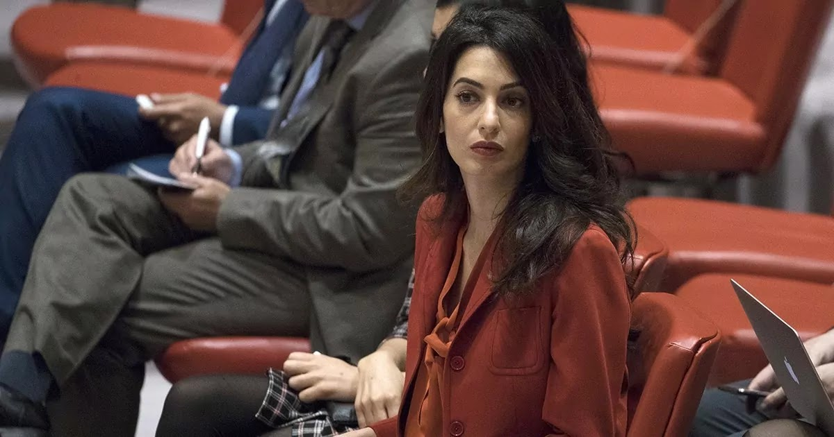 Amal Clooney Advises Businesses To Put Human Rights At The Top Of Their Agenda If They Wish To Profit In The Long Term