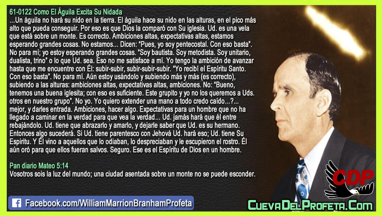 Yo estoy esperando grandes cosas - William Branham en Español