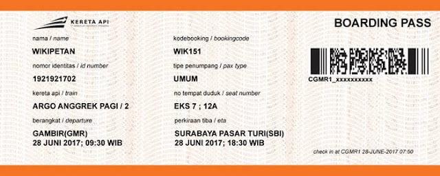 Cara Self Check-in Tiket Kereta Api Jarak Jauh
