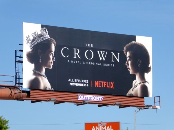 The Crown season 1 billboard