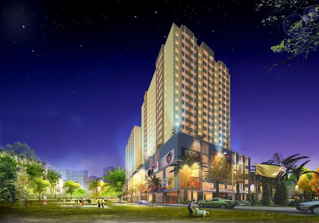 Phối cảnh dự án chung cư Lộc Ninh Singashine