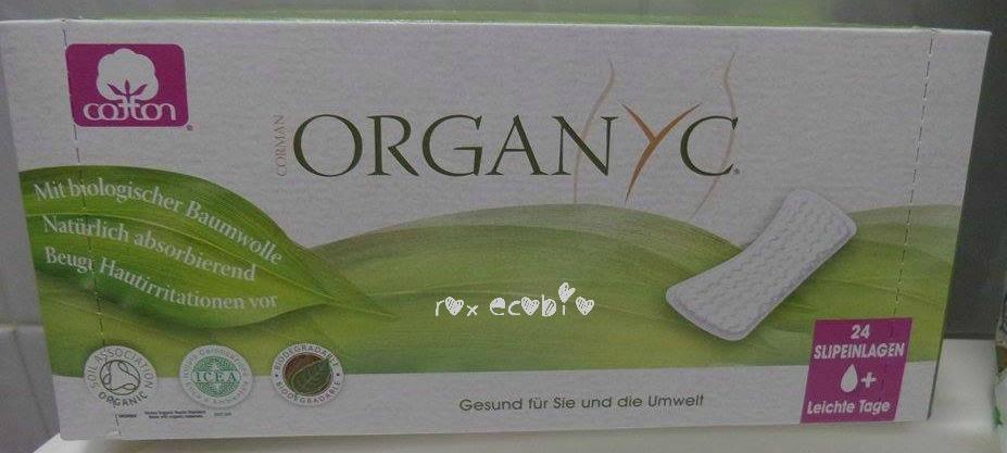 Organyc proteggi slip puro cotone biologico