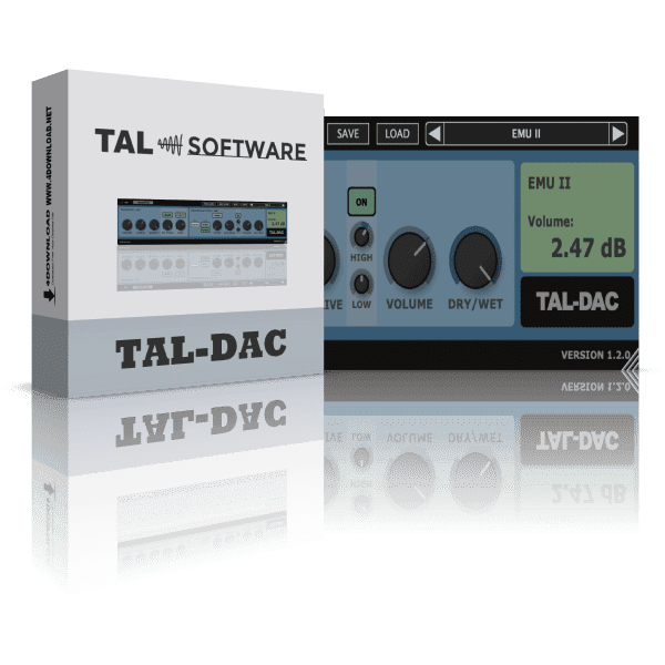 TAL Software - TAL-Dac v1.2.1 Full version