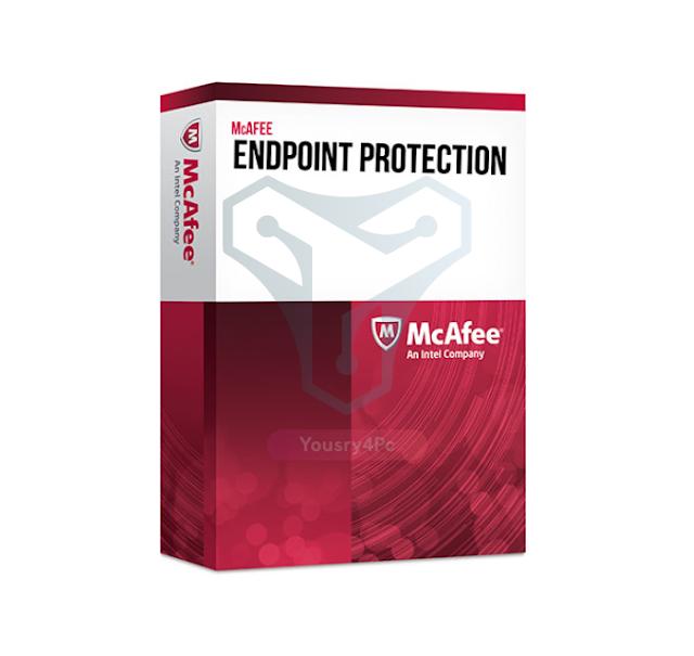 تحميل برنامج McAfee Endpoint Security كامل بالتفعيل للحماية من الفيروسات والتجسس - Yousry4pc