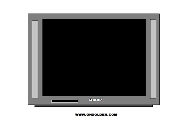 Persamaan STR W6753 TV SHARP Kadang Mati Sendiri