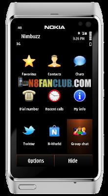 Nimbuzz 3 80 Cross Platform Voice Chat App for Nokia N8