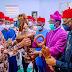 Photo story of Buhari's visit to Imo State