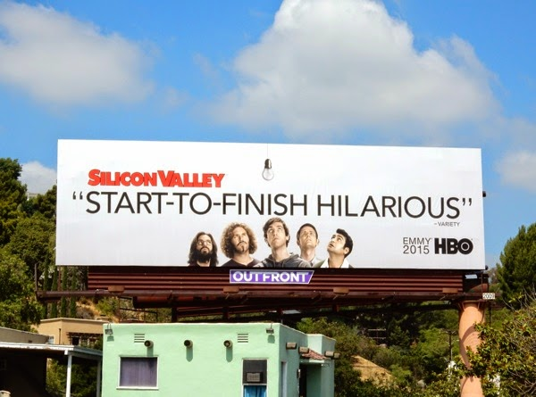 Silicon Valley season 2 Emmy 2015 billboard