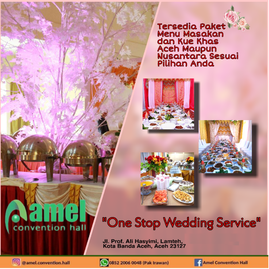 Gedung Serbaguna Amel Convention Hall Banda Aceh 2020