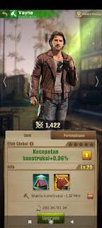 Cara Level Up Karakter di Game The Walking Dead Survivors