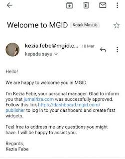 cara mudah diterima MGID tanpa 3000 unique visitor per daily