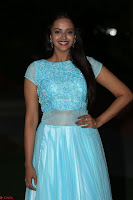 Pujita Ponnada in transparent sky blue dress at Darshakudu pre release ~  Exclusive Celebrities Galleries 130.JPG
