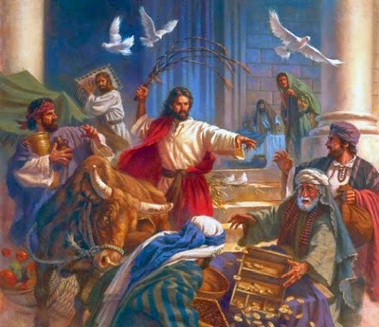 Io e un po' di briciole di Vangelo: (Gv 2,13-25) Distruggete questo tempio  e in tre giorni lo farò risorgere