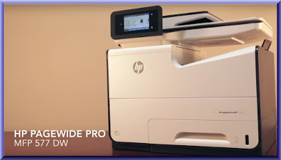 HP PageWide Pro 577dw Wireless Setup