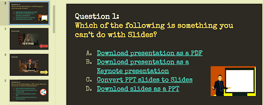 Make a Self-Paced Quiz in Google Slides
