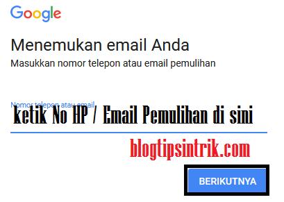 Tips Mengatasi Lupa Id Pengguna Gmail Atau Akun Google Blog Tips