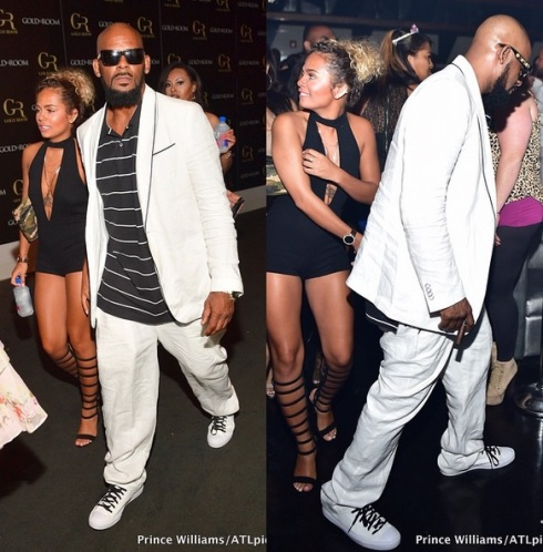 R.Kelly Steps Out With His New Girlfriend...she's just 19