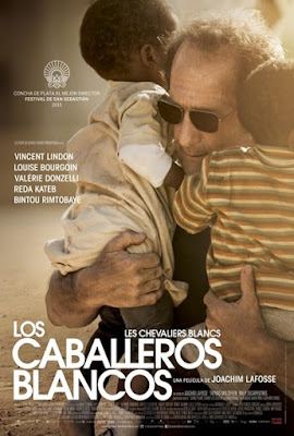 cartel español LOS CABALLEROS BLANCOS