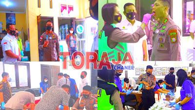 Gandeng BNN, Polres Tana Toraja Gelar Test Urine