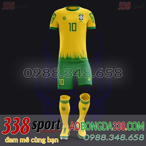 Áo Đặt May Theo Yêu Cầu - Mã BRAZIL 04