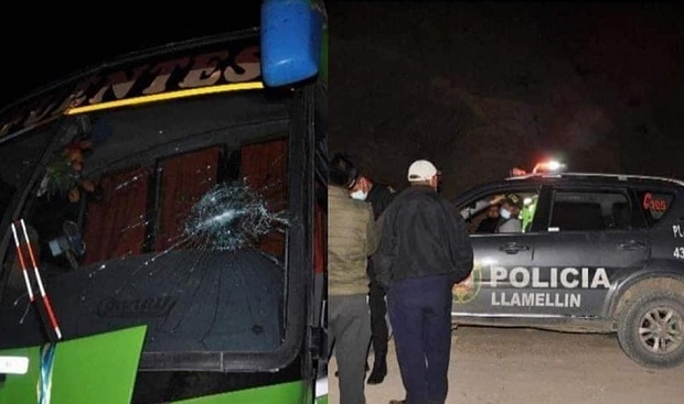 Llamellin: Asaltan bus inteprovincial de la empresa Sifuentes