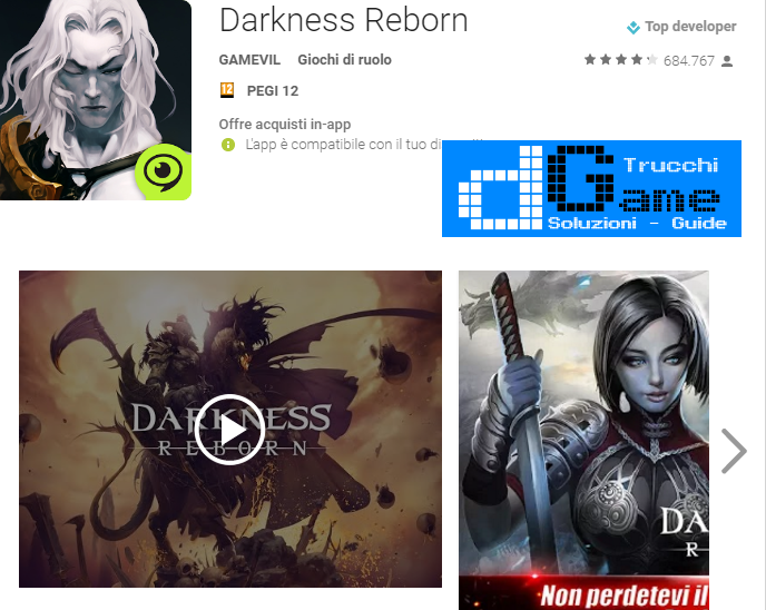 Trucchi Darkness Reborn Mod Apk Android v1.3.6