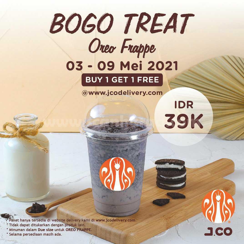 Promo JCO BOGO TREAT – Spesial BELI 1 GRATIS 1