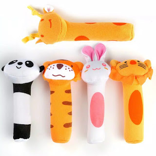 Animal Rattle Stick for Baby