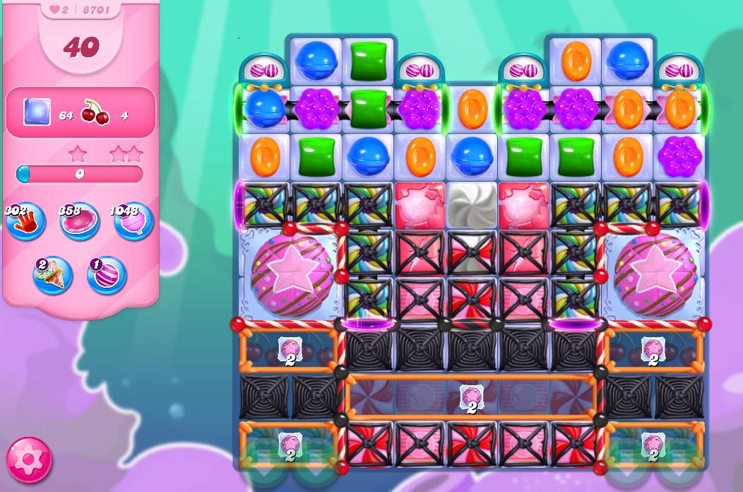 Candy Crush Saga level 8701