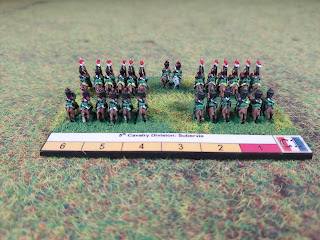 Blucher bases with 6mm Baccus figures