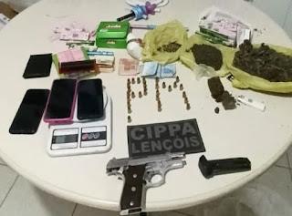 Homem é preso suspeito de tráfico de drogas em Morro do Chapéu