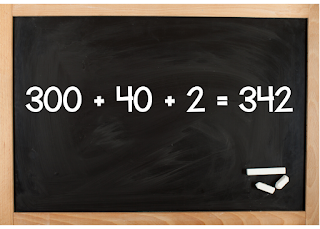 300 + 40 + 2 = 342 - Teaching in the Heart of Florida blog post - A Place Value Game Your Students Will Beg You to Play