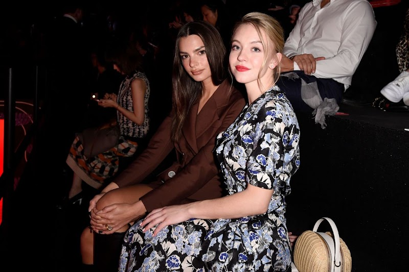 Sydney Sweeney Clicks at Prada Show at Milan Fashion Week 20 Feb-2020