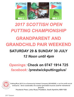 2017 Scottish Open Putting Championship