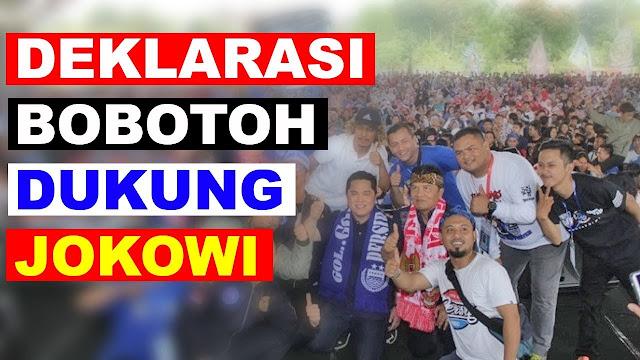 Bobotoh Maung Bandung dukung Jokowi dan KH Maruf Amin