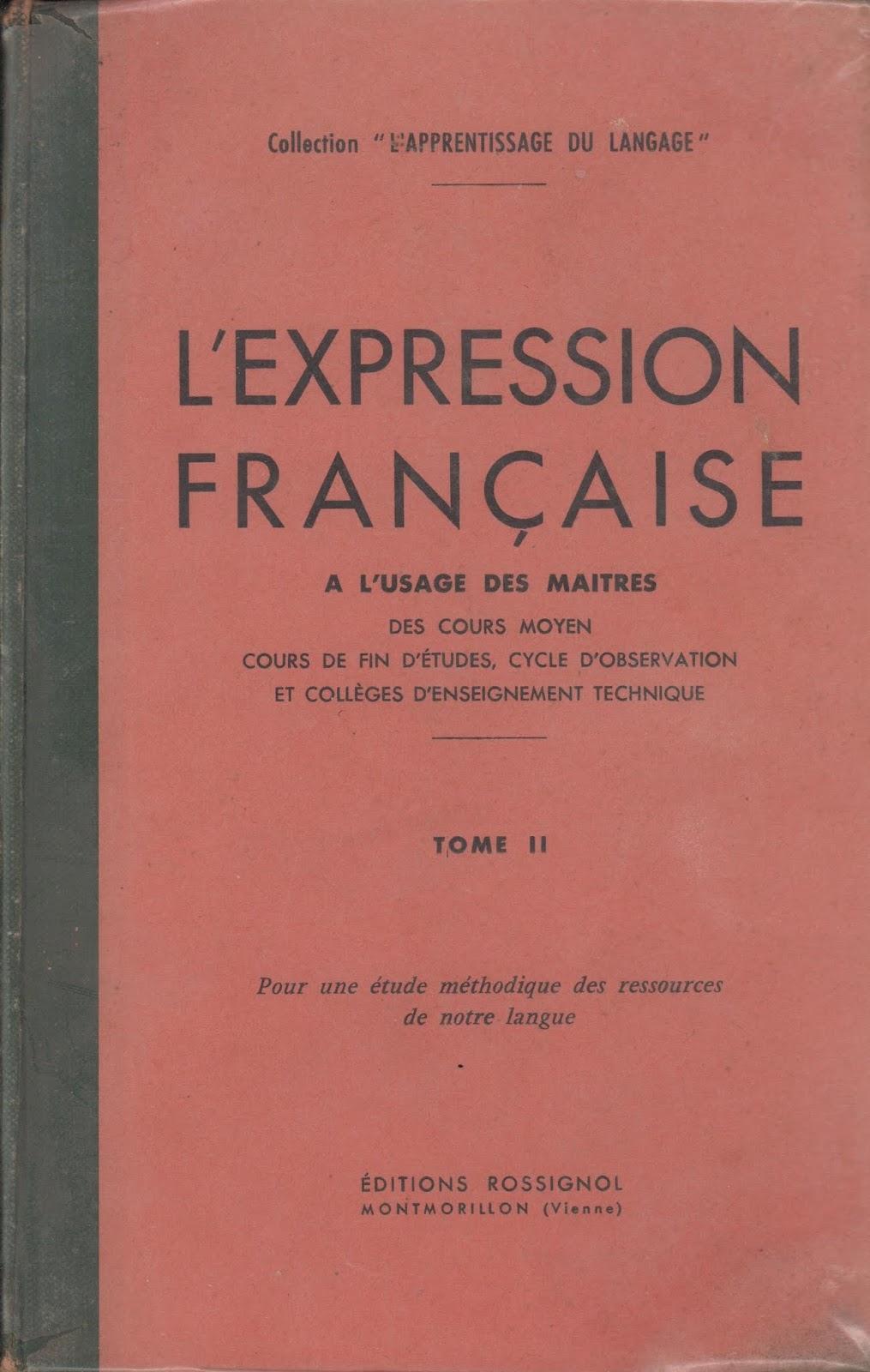 Manuels Anciens Charlot Geron L Expression Francaise Cm