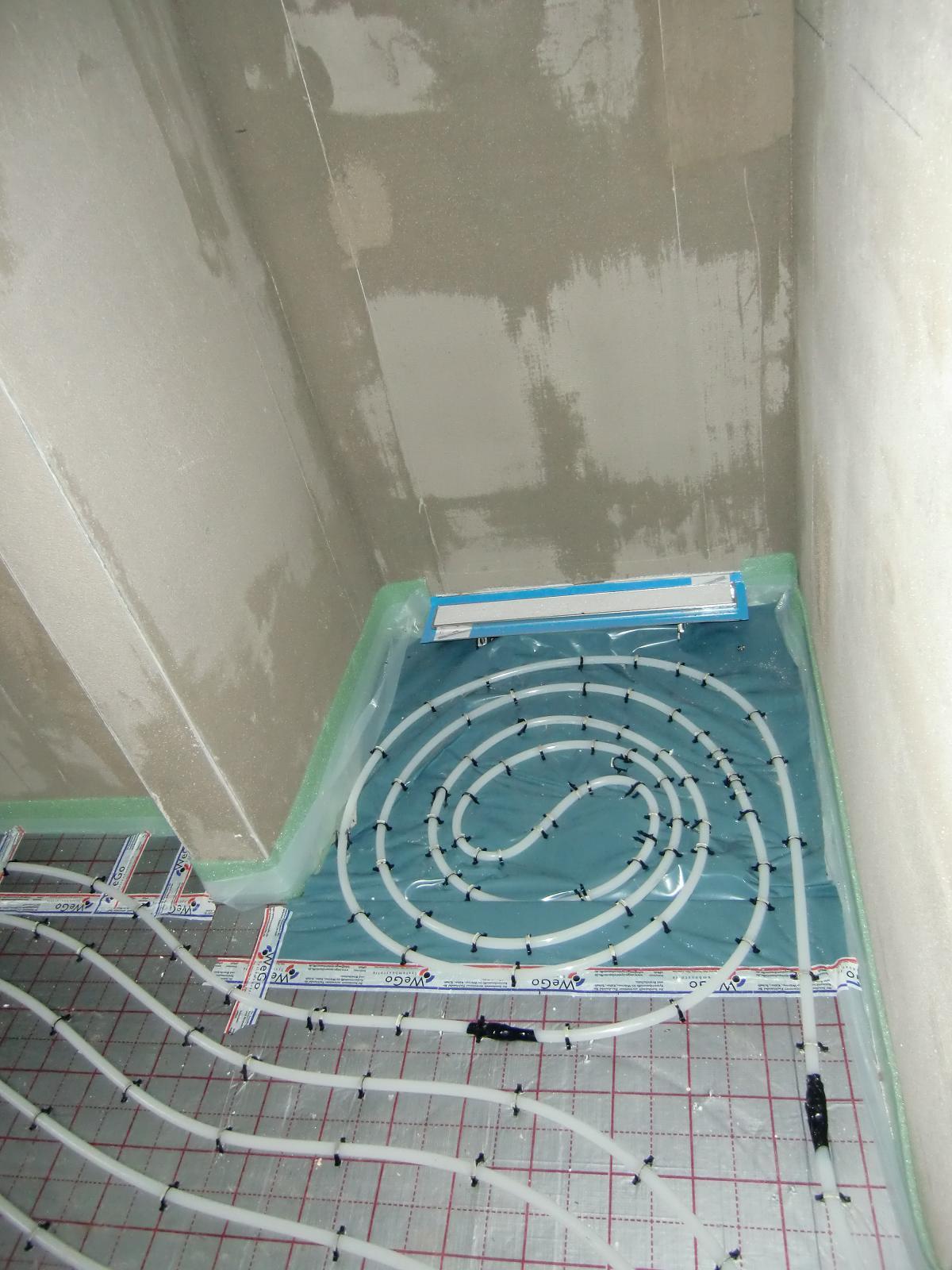 Fabulous Neues vom Bau: Garage, Putz und Fussbodenheizung YH18