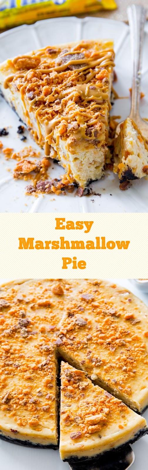 Easy Marshmallow Pie