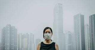 वायु प्रदूषण कोविद -19 के खिलाफ भारत की लड़ाई में  बन सकता  है बाधा