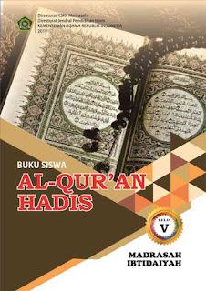 Buku Al Quran Hadis MI Kelas 5