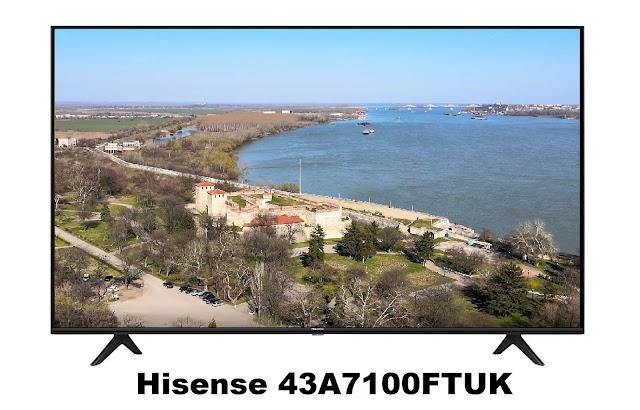 Hisense 43A7100FTUK 4k Smart TV
