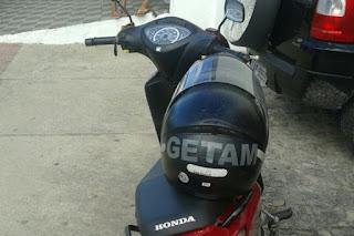 Guarnição policial recupera motocicleta roubada em Itabaiana