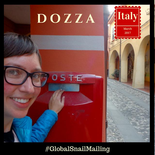 #GlobalSnailMailing Dozza Italy