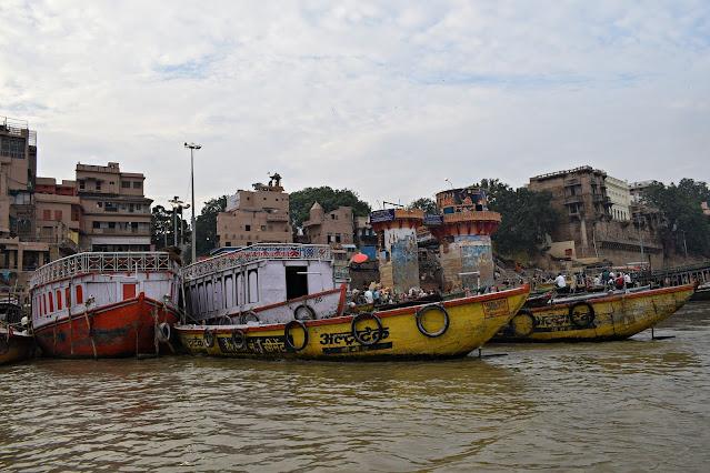 Boats, Ganga Ghat, Varanasi,