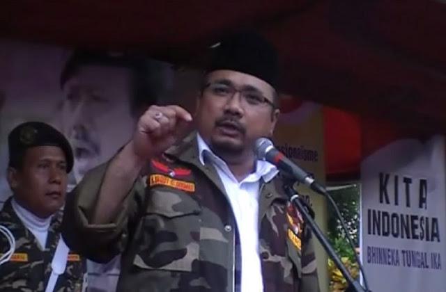 Tanggapi Bentrok di PCNU Solo, Yaqut Cholil : Sahabat-sahabat Banser Tunggu Komando