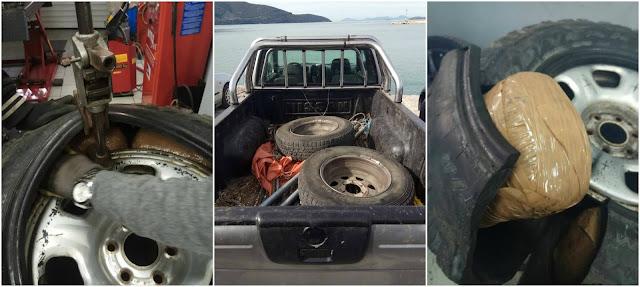 Συνελήφθη 49χρονος ημεδαπός, στο Σμέρτο Θεσπρωτίας - Είχε κρυμμένα σε ρεζέρβες 24 κιλά κάνναβης (+ΦΩΤΟ)