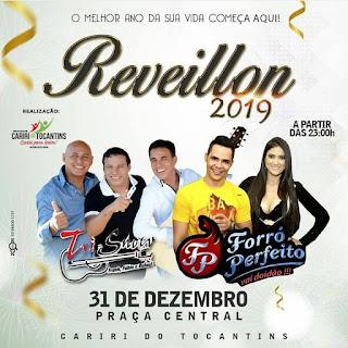 reveillon 2019 de cariri do tocantins
