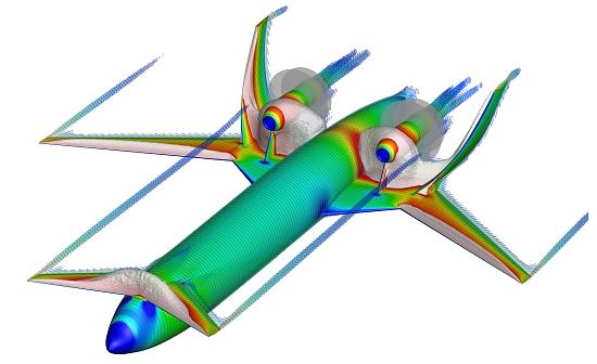 Aviões do futuro são projetados