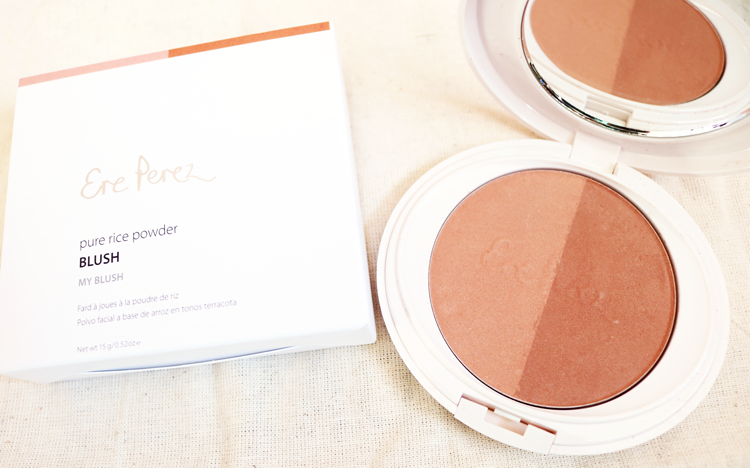 Ere Perez Pure Rice Powder Blush in My Blush review